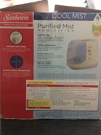 Cool mist humidifier... excellent condition... works great...just require filter... East Brunswick, 08816