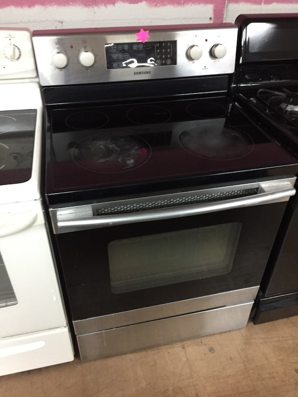 Samsung Stainless Steel electric stove