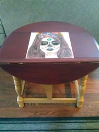 Hand painted day of the dead girl on folding side  Port Moody, V3H 1Y5