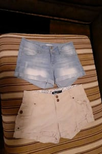Girls junior shorts size 3