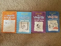 Set of 4 Diary of a Wimpy Kid Anchorage, 99507