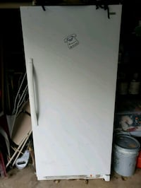 White single door freezer  Olney, 20832
