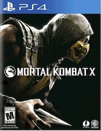 PS4 Mortal Kombat X  North York, M3K 2C1