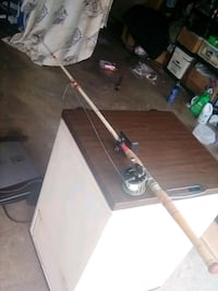 Gramps's fishing rods and reals