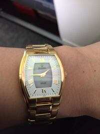 EUC BULOVA SOLAR WATCH