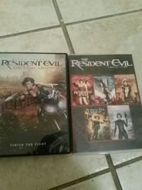 two The Resident Evil disc cases Hagerstown, 21740