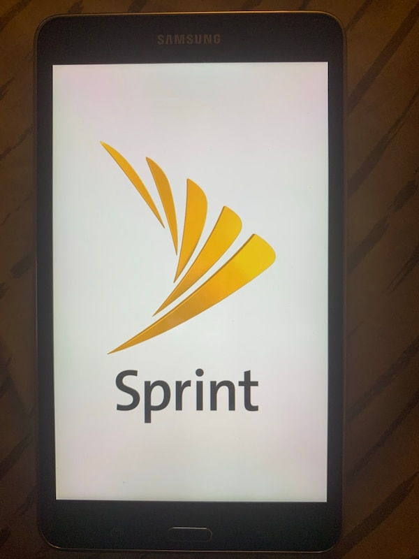 Sprint galaxy tablet upgraded have no need for
