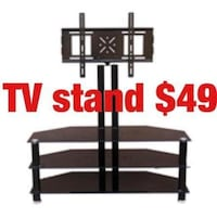 black wooden TV stand screenshot Newark, 07114