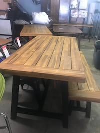 New Kitchen table and bench - Homestead Marketplace 4024 NW 10th OKC