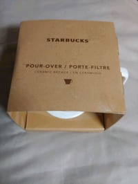 **BRAND NEW** STARBUCKS CERAMIC POUR OVER FILTER Plano, 75093