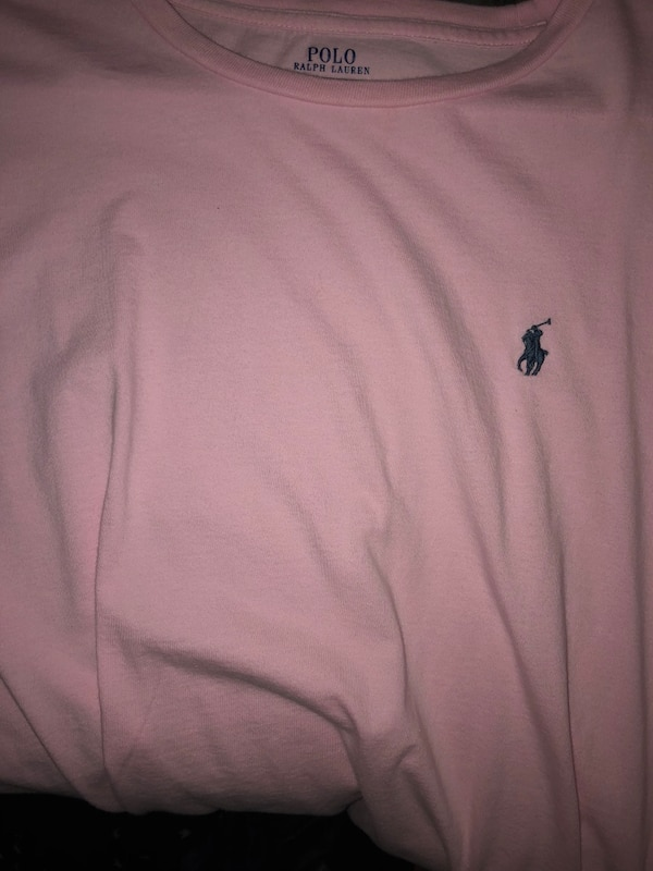 a08b8914b42a1e Used Light pink Ralph Lauren   Polo shirt for sale in St. Clements ...