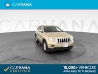 2012 *Jeep* *Grand* *Cherokee* Laredo Sport Utility 4D suv GOLD Downey