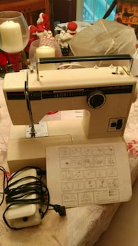white and black Brother electric sewing machine Dale City, 22193