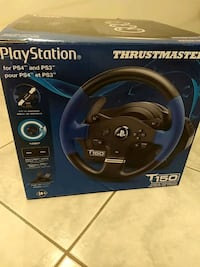 Thrustmaster T150 PS4 NEW! Never used Mississauga, L5G 1T7