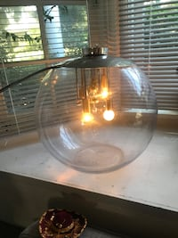 Glass orb lighted table lamp Los Angeles, 91601