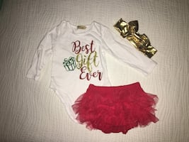 BNIP - Baby Christmas Outfit