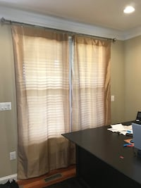 Block light Curtains / Gold color Chantilly, 20151