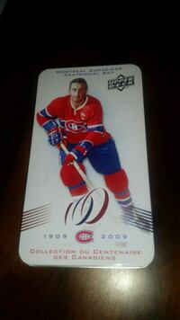 2 Montreal Canadiens Metal Tins. No Cards