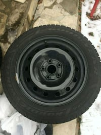 4 - 205/55/16 Winter Tires on Winter Rims Mississauga, L4Y