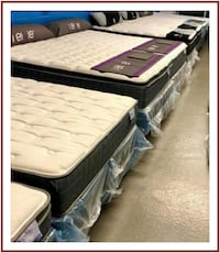 New - In the Plastic - Queen Mattress & Box Spring Sets - Manassas
