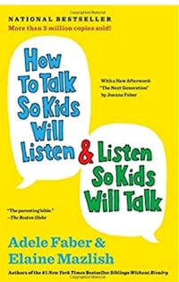 How to talk so kids listen book. $15 New