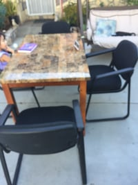 black and brown wooden table Escondido, 92026