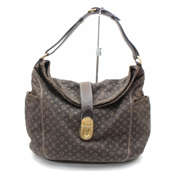 77f01b79065f Authentic Louis Vuitton Romance M56699 Brown Monogram Idylle Hand Bag 11115