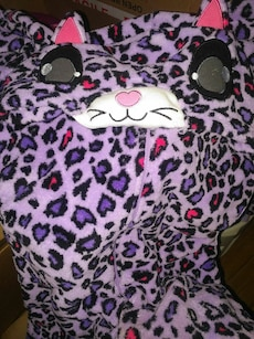 Ladies xs onesie, kitty cat, like new