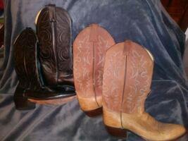 Cowboy Boots. / two pairs..