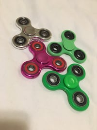 four assorted color 3-blade fidget spinners Ottawa, K2W 1G1