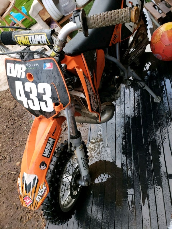 Ktm 50 sx jr kids motocross dirt bike