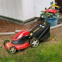 """Homelite 20"""" lawnmower with brand new battery Surrey, V3W"""