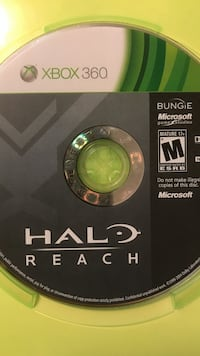 Xbox 360 Halo Reach Game Disc