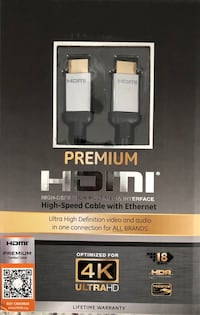 16ft GE - premium HDMI with Ethernet London