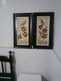 two gray birds painting with black wooden frames Post Falls, 83854