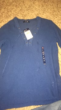 chaps blue long sleeve shirt College Station, 77840
