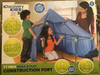 Discovery Kids 77 Piece Construction Fort Chandler, 85248
