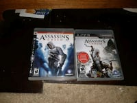 two Sony PS3 game cases Waterloo, N2J 2A2