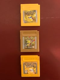 Pokémon Games for Nintendo Game Boy Ashburn, 20147