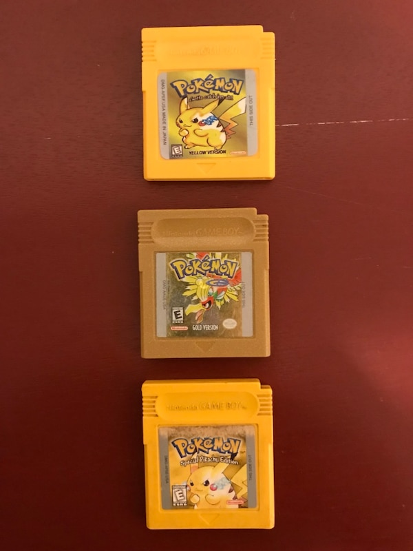 Pokémon Games for Nintendo Game Boy