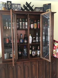 Giant wood china cabinet  Albuquerque, 87111