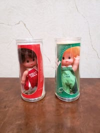 Dolly Cola and Lily Lime Dolls in Plastic Bottles