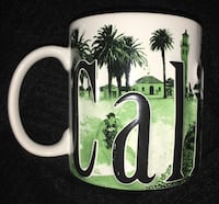 Extra large California relief mug. Bakersfield, 93308
