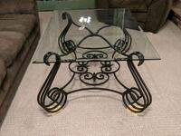 black metal scrolled coffee table Groton, 06340