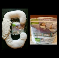 Snoogle Pregnancy Pillow & Cover Aurora, L4G 4P3