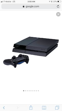 black Sony PS4 console with controller East Cleveland, 44112