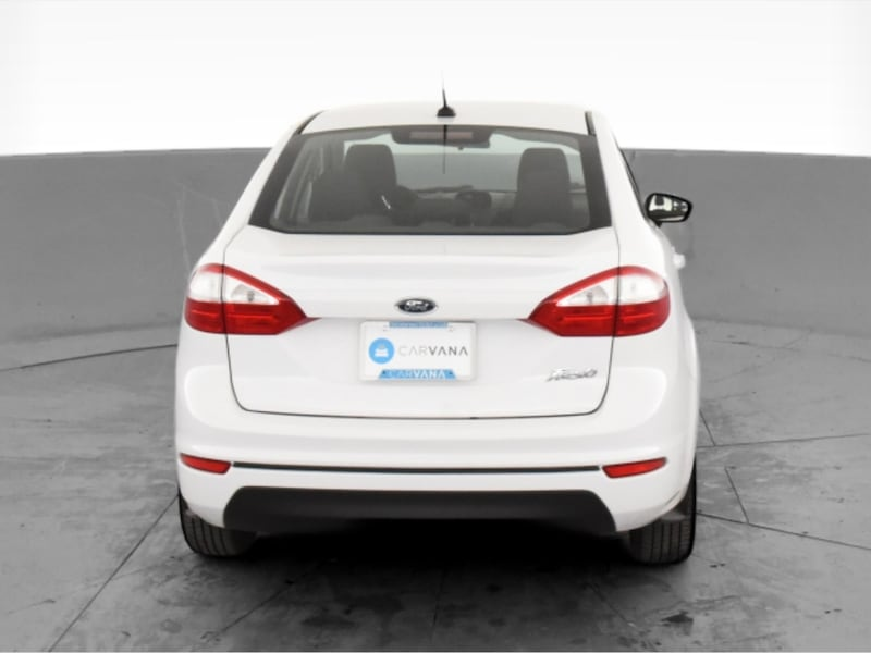 2017 Ford Fiesta sedan S Sedan 4D White <br /> 8