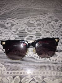 black framed Ray-Ban Clubmaster sunglasses Griffin, 30223