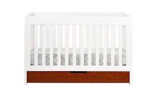 3 in 1 Baby Convertible Crib with Seally Soy Beam Foam-Core Mattress