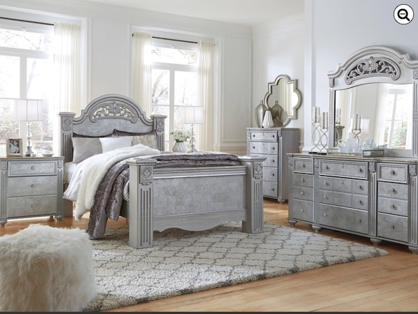 Used Master Bedroom Set Queen New By Ashley Furniture For Sale In